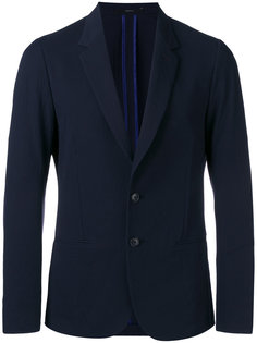 notched lapel blazer Paul Smith