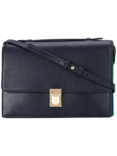 сумка на плечо с контрастными вставками Paul Smith