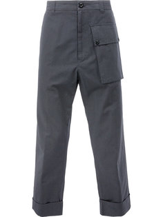 oversized pocket trousers Wooster + Lardini