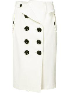 юбка с двубортным дизайном Monse