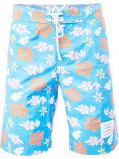 floral print swim shorts Thom Browne