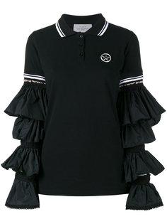 ruffle sleeve polo shirt Preen By Thornton Bregazzi
