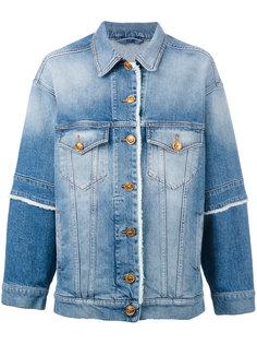 джинсовая куртка с бахромой Fausto Puglisi