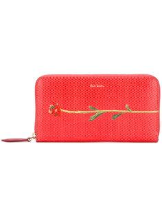 кошелек с принтом цветка Paul Smith