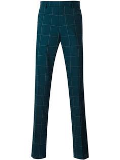 брюки в клетку Paul Smith