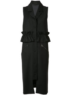 пальто с короткими рукавами и рюшами Mother Of Pearl