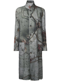 reversible printed coat  Forme Dexpression