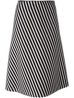 полосатая юбка А-силуэта Christian Wijnants
