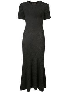 трикотажное платье с расклешенным подолом Sally Lapointe