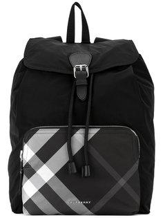 рюкзак с карманом в клетку Burberry
