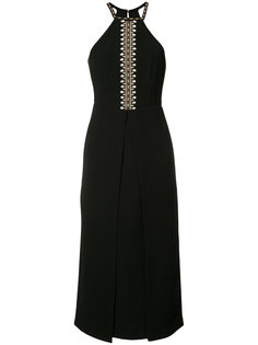 shell embroidery dress Yigal Azrouel