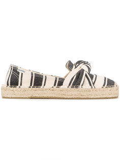 striped bow detail espadrilles Soludos