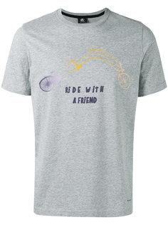 футболка с принтом велосипеда Ps By Paul Smith