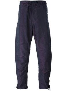 зауженные брюки с присборенной отделкой Stone Island Shadow Project