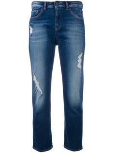 укороченные джинсы  Armani Jeans