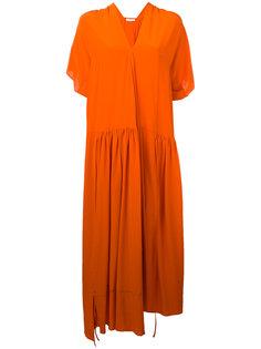 crepe asymmetric dress Christian Wijnants