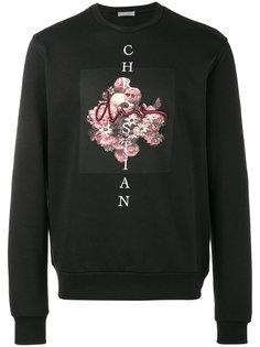 толстовка с цветочным принтом Dior Homme