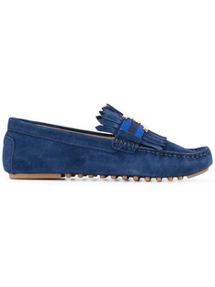 logo plaque loafers Tory Burch
