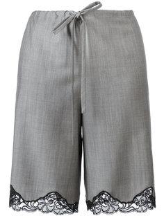 шорты с кружевной отделкой Alexander Wang