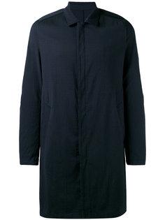 классическое пальто на пуговицах Wooyoungmi