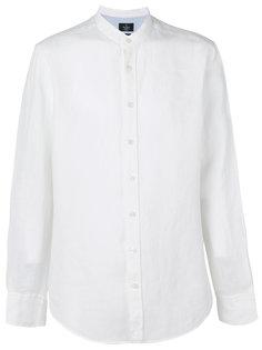 однотонная рубашка Hackett