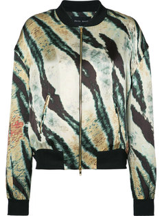printed bomber jacket  Baja East