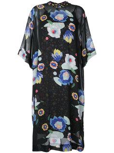 Floral print chiffon tee dress G.V.G.V.