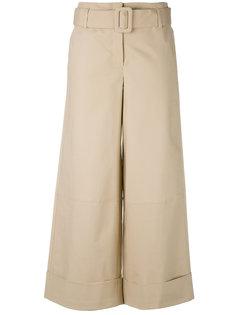 belted wide-leg trousers Nanushka