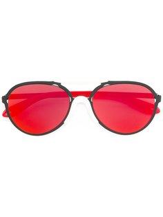 легкие солнцезащитные очки-авиаторы Givenchy