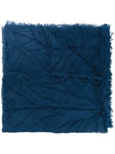 fringed edge scarf  Faliero Sarti
