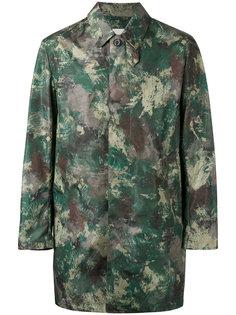 camouflage print coat Mackintosh