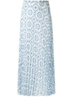 длинная плиссированная юбка Dondup