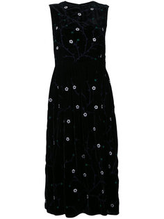 embroidered sleeveless dress  Jupe By Jackie
