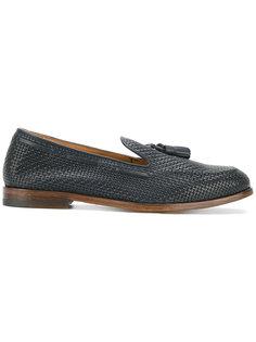 Scarpa Mughetto woven loafers Doucals