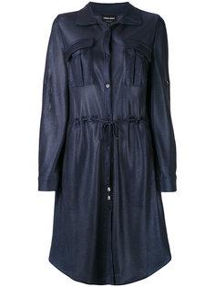 платье-рубашка с завязками Giorgio Armani