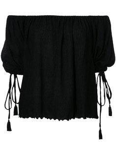 Yoryu chiffon off shoulder blouse G.V.G.V.