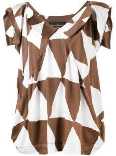 triangle print blouse Vivienne Westwood Anglomania