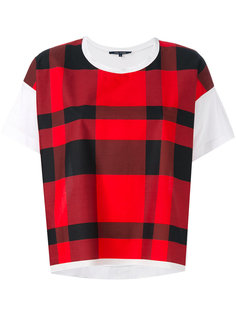 checked T-shirt  Sofie Dhoore