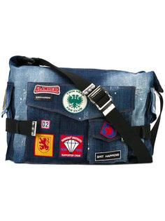 джинсовая сумка Postman  Dsquared2