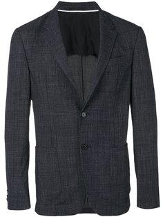 пиджак с прямоугольными лацканами Z Zegna