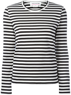 striped long sleeve T-shirt Comme Des Garçons Girl