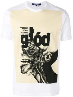 футболка с графическим принтом Junya Watanabe Comme Des Garçons Man