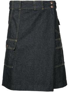 wrap front shorts Ganryu Comme Des Garcons