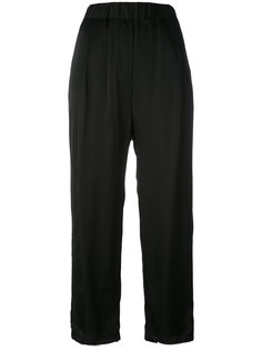drop-crotch cropped trousers Damir Doma