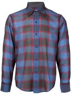 plaid longsleeve shirt Facetasm