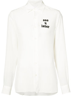 see-through shirt  Loewe