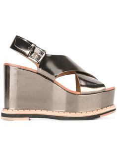 Trendy platform sandals  Flamingos