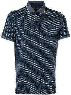 рубашка-поло с геометрическим узором Michael Kors