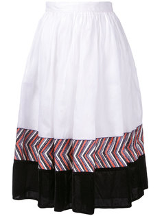 panelled midi skirt  Jupe By Jackie