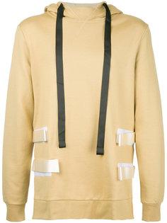side strap hoodie Matthew Miller